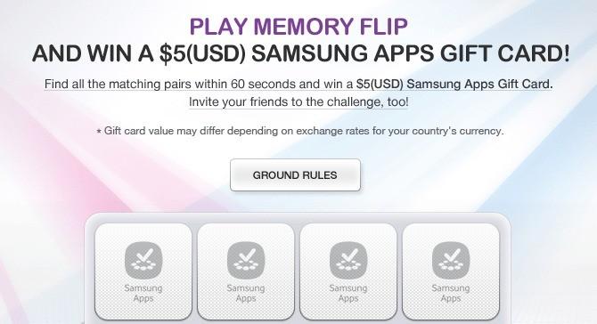 Samsung – Concorso per vincere 5$ (3.78€) di credito per Samsung Apps!