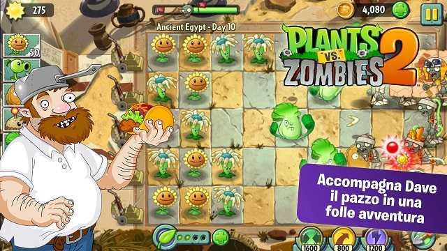Plants Vs Zombie 2| Appena arrivato sul Play Store