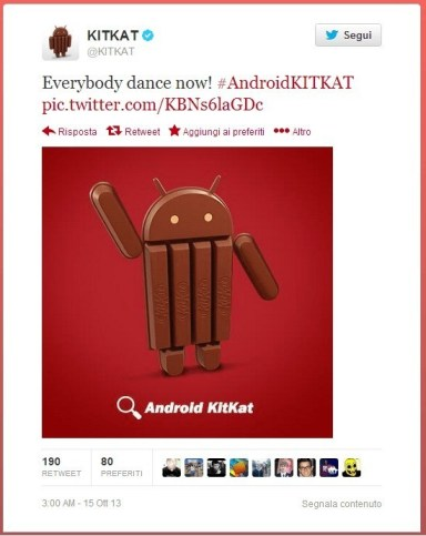 Twitter KitKat