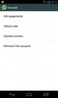 WhatsApp si aggiorna e permette il cambio di numero anche nella versione stabile.