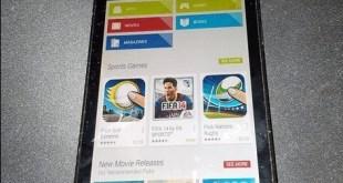 BlackBerry OS 10.2.1: queste le immagini del Play Store?