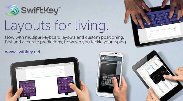 "SwiftKey presenta ""Layouts for Living"""