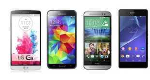 I 10 migliori smartphone 2014 (Dicembre)