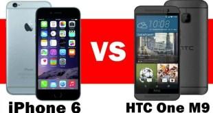 Confronto iPhone 6 Vs HTC One M9: chi è il più veloce nell'apertura delle app?
