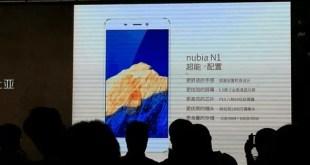 Nubia N1 con batteria da ben 5000 mAh