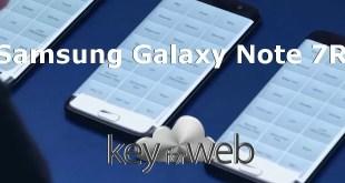 Samsung Galaxy Note 7R mostrato in alcune immagini leaked