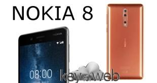Massiccio l'aggiornamento Nokia 8 che porta con sè Android 8.0 Oreo