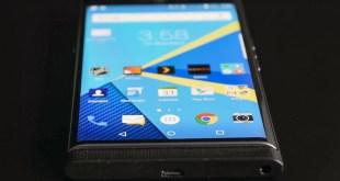 BlackBerry Priv si aggiorna inaspettatamente