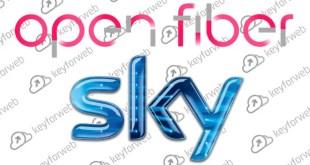 Sky Italia insieme ad Oper Fiber, nuovo servizio in fibra ottica a partire dal 2019
