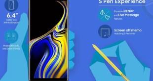 Scarica gli sfondi ufficiali del Galaxy Note 9