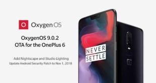 OnePlus 6, dopo Open Beta ecco subito Oxygen 9.0.2 stabile
