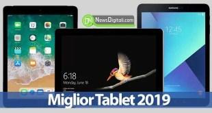 Miglior Tablet 2019: guida definitiva