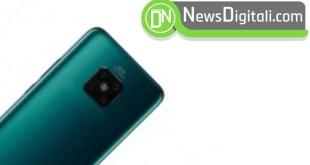 Con Huawei Mate 30 Pro tornerà il Notch ed i bordi saranno molto curvi