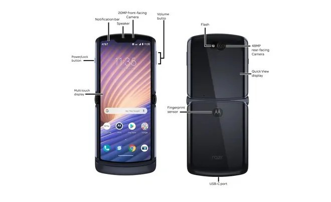 RAZR 5G riceve finalmente Android 11