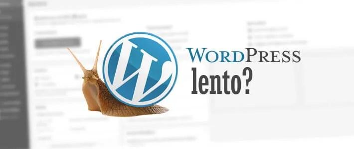 Sito WordPress lento: come risolvere