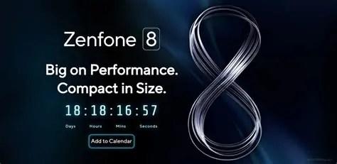 ASUS Zenfone 8 sarà svelato a maggio, gli ultimi dettagli sulla nuova serie