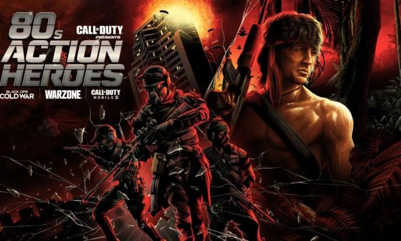 Gli eroi del cinema anni '80 arrivano in Call of Duty Warzone!