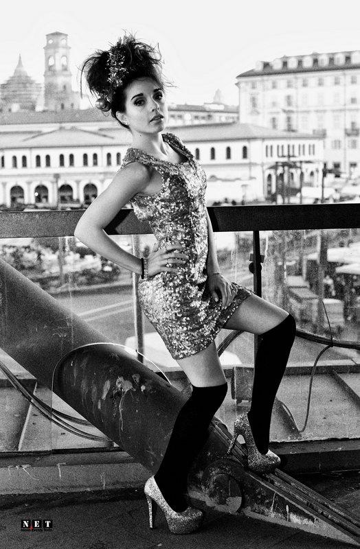 Историческая часть район города Турин Италия итальянская мода