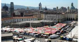 Центральный рынок Турин Италия