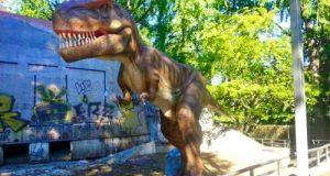 Динозавры Италия Турин парк Микелотти