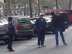 Вымогатели на итальянских парковках в турине