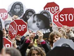Безопасность женщины в Италии Турине
