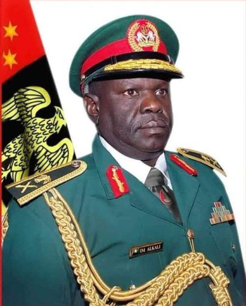 •Missing Major General Alkali (rtd)