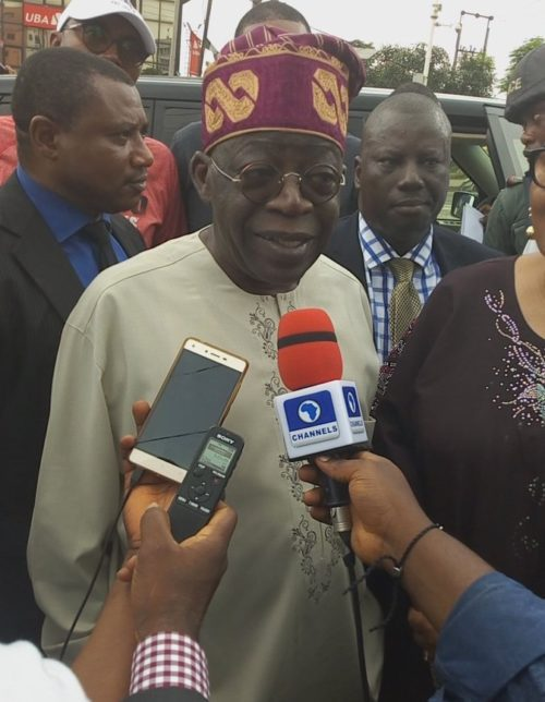 Image result for If we lose, we'll accept the outcome if the election is free, fair – Tinubu