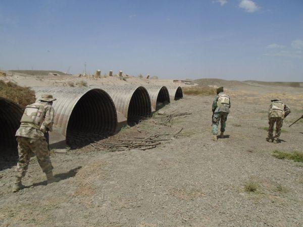 •Nigerian troops hunting for Boko Haram terrorists.