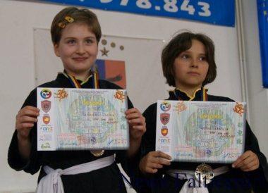 Falticeni-vicemapioanele nationale Grigorescu si Vultur