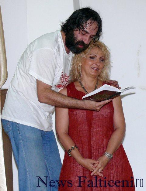 Falticeni-recital de poezie Adrian Bezna si Maria Gheorghiu
