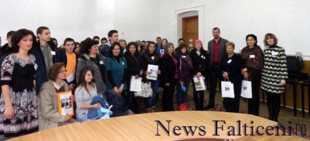 Falticeni-echipele_de_proiect_din Romania si Bulgria