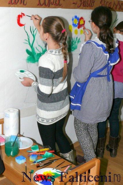 Falticeni-atelier creatie pictura 1
