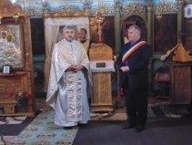 Falticeni-primar Gh Fron si preot Sasca Mica