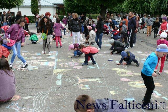 Falticeni-desene pe asfalt 3