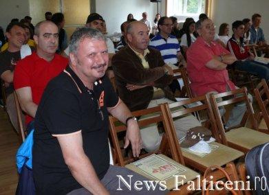 Falticeni-Falticeni Folk Ovidiu Mihailescu si Voua la deschiderea oficiala