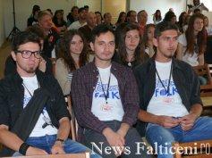Falticeni-Falticeni Folk deschiderea festivalului public