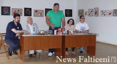 Falticeni-Sorin Poclitaru isi prezinta cartea