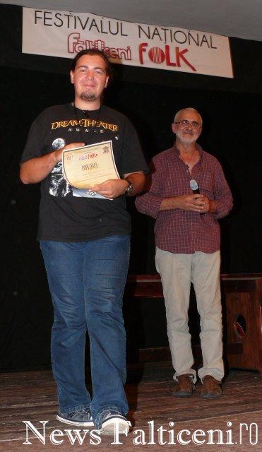 Falticeni-premiul presedintelui juriului
