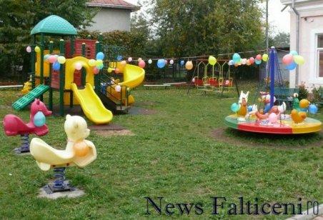 Falticeni-parcul de joaca Voinicelul