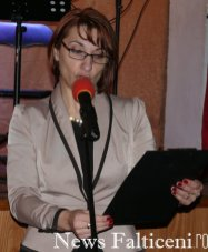 Falticeni -Directorea Daniela Ilincai