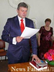 Falticeni-Primarul Coman depune juramantul 1
