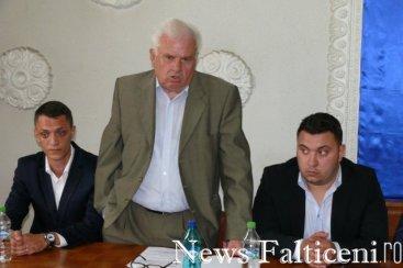 Falticeni-constituire Vasile Sburlea si cei doi asistenti
