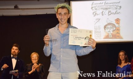 News Falticeni -Cel mai bun actor rol principal Claudiu Ladan
