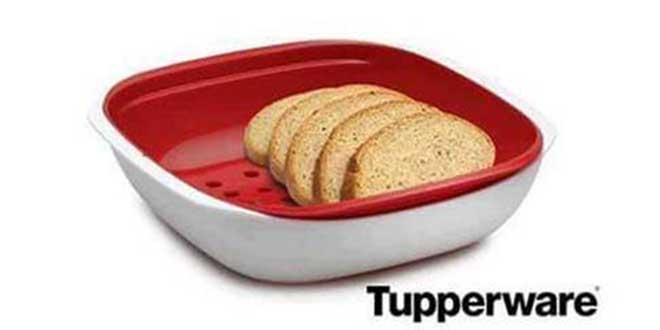 Tupperware World Contest with gift Allegra snack