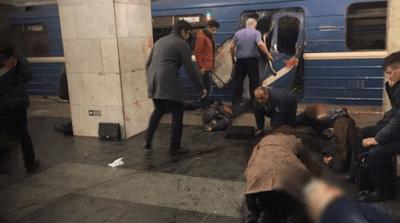 Δύο εκρήξεις στο ΜΕΤΡΟ της Αγίας Πετρούπολης: Πληροφορίες για δεκάδες νεκρούς [video]