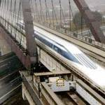 Τραίνο στα 580 χλμ/ώρα
