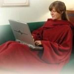 Κουβέρτα με μανίκια