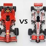 Ferrari – McLaren – Δύο αντίθετες πορείες