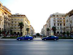 Egnatia street in Thessaloniki